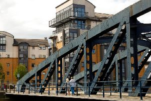 The Victoria Swing Bridge is in urgent need of attention