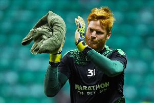 Adam Bogdan says he will look back on his time at Hibs with great fondness, revealing that he particularly enjoyed the win over Asteras. Pic: SNS