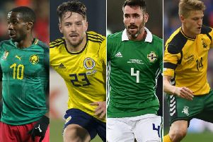 A number of Hearts and Hibs players - past and present - could be involved at international level this weekend