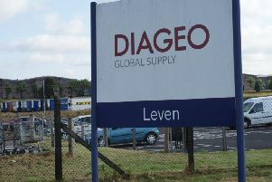 Police are appealing for information about the incident which took place at Diageo plant in Leven.