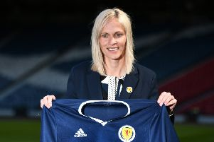 Scotland manager Shelley Kerr. Picture: John Devlin