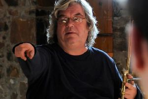 Trombonist Rick Taylor became one of the best-known musicians on the Isle of Skye after moving there in 2002.