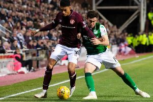 Hearts and Hibs will find out their fixture list later this month. Picture: SNS