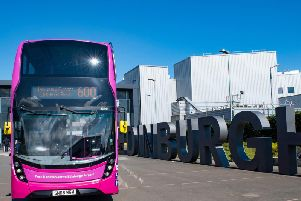 First Bus have expanded the route of the 600 and increased the frequency