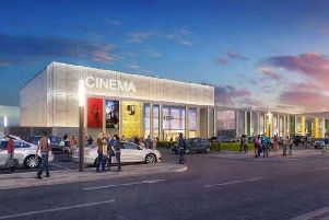 Artist impression of the new Gyle Shopping Centre