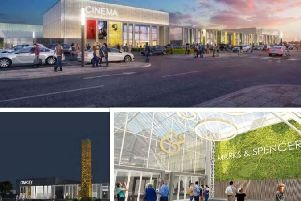 Proposals to extend the Gyle Centre including a new cinema