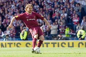 Robbie Neilson is a Scottish Cup hero. Picture: SNS
