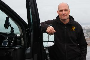 Taxi driver Danny Tebb is facing large bills due to problems with air filters on latest black cab models in order to comply with new low emission zones in Scottish city centres.