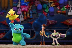 Woody and the gang are back in Toy Story 4. Picture: Contributed