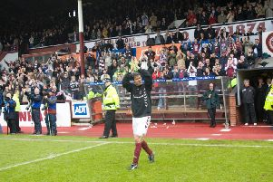 Takis Fyssas is still remembered warmly at Tynecastle. Picture: SNS