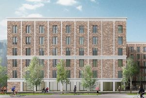 Plans for a student housing block on London Road were approved by councillors