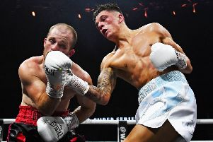Lee McGregor gained his latest victory against Brett Fidoe
