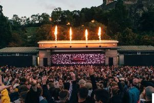 The Fly Open Air festival has been staged in Princes Street Gardens for the last three years without any problems with the city council.