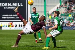 Hearts and Hibs will first battle it out in September.