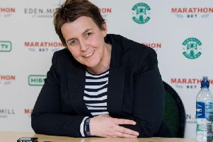 Hibs chief executive Leeann Dempster.
