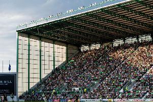 Hibs fans are set to pack out Easter Road once more. Picture: SNS