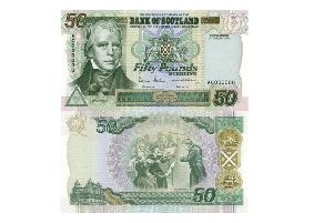 Scottish 50 notes are often the target of forgery.