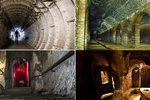Picture: Edinburgh's tunnels and vaults