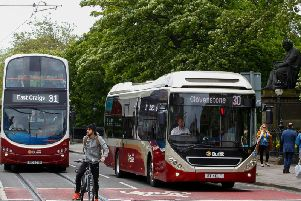 A bus strike was scheduled to coincide with the start of the Festival