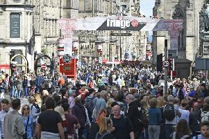 Overnight visitor numbers to Edinburgh have soared by nearly a third in the space of seven years, to 4.26 million.