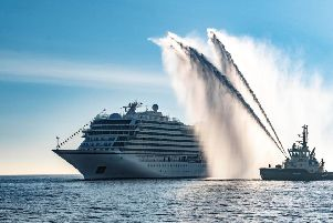 Cruise ships are expected to bring a million people to Scotland next year