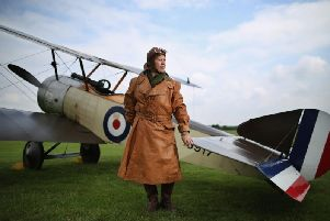 The group's next project is to build a Sopwith Pup
