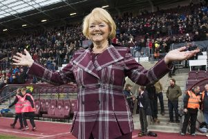 Hearts owner Ann Budge has been honoured for transforming the fortunes of the Tynecastle club