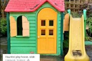 The advert for the haunted playhouse appeared on Facebook Marketplace