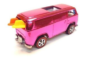 The Hot Wheels VW Campervan with surfboards is worth thousands.