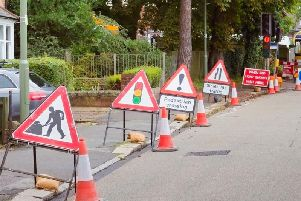 Don't let your travel plans be disrupted by roadworks starting this week