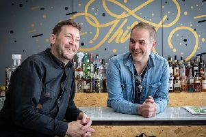 Contagious business and creative director Jason Dobson (left) and creative director Jason Milne. Picture: Contributed