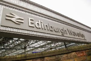 Rail services in and out of Edinburgh Waverley have been severely disrupted this morning due to a damaged overhead electric wire.