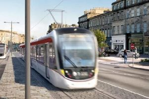 The Edinburgh tram line will be extended from York Place to Newhaven