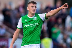 Josh Campbell has made an impressive return to Hibs after learning under former Hibee Ian Murray at Airdrie