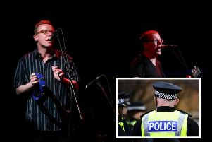 The Proclaimers are performing in Edinburgh this weekend. Pic: Getty/Police Scotland