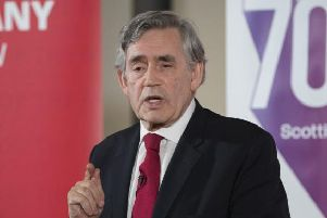 Gordon Brown. Picture: John Devlin
