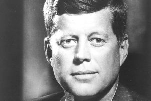 John F Kennedy's inspirational words still resonate today (Picture: Fabian Bachrach/Fox Photos/Getty Images)