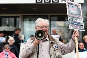 Age UK said that many pensioners, including those who find it difficult to dress, bathe and get out of bed, will struggle with the procedure of paying or even confirming that they are entitled to a free TV licence. Picture: JP