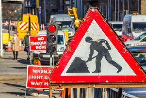 Edinburgh roadworks: scheduled road closures, temporary traffic lights and diversions