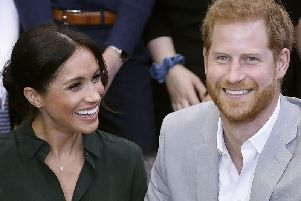 Prince Harry and wife Meghan are yet to accept an invite to Dumbarton. Picture: Getty Images