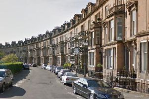 The incident occurred on Belgrave Crescent.