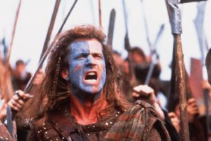 Mel Gibson as William Wallace in the film Braveheart (Picture: 20th Century Fox)