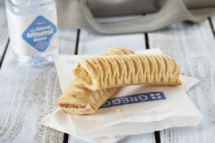 Bakery chain Greggs has witnessed profits soar since vegan sausage rolls went on sale at the start of the year. Picture: PA