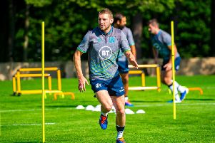 Finn Russell is put through his paces at St Andrews