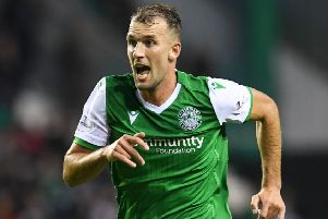 Christian Doidge must prove doubters wrong after misses against St Mirren. Picture: SNS Group