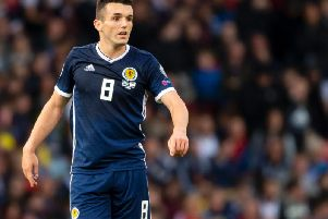 Former Hibs and current Scotland midfielder John McGinn.