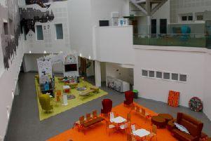 Inside the vacant Royal Edinburgh Hospital for Children and Young People. Picture: Scott Louden