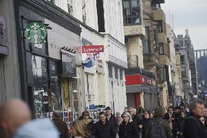 Princes Street as a shopping destination has been in decline for years. Picture: Greg Macvean