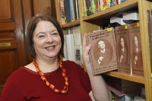 Eleanor Docherty leads talks and tours at the Arthur Conan Doyle Centre