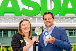 The gin will be available across 50 Asda stores. Picture: Ian Georgeson